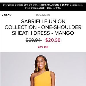 f67fe1e0998 New York   Company Dresses - NWOT Gabrielle Union for NY C sheath dress